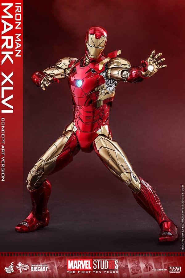 Hot Toys MCU 10th Anniversary Concept Iron Man 4