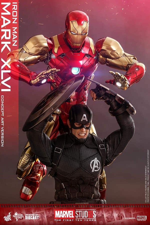 Hot Toys MCU 10th Anniversary Concept Iron Man 9