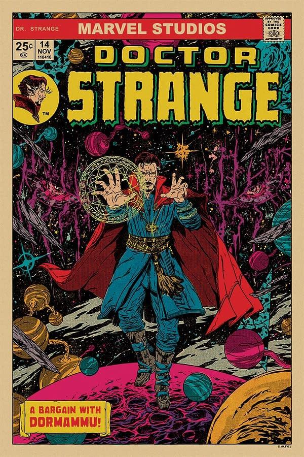 Mondo Marvel Studios 10 Anniversary Doctor Strange 1