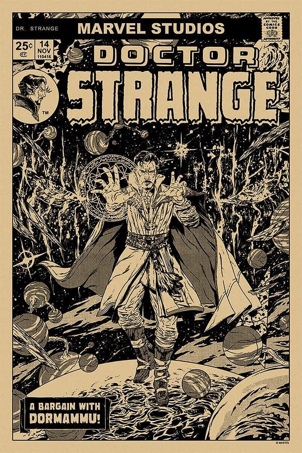 Mondo Marvel Studios 10 Anniversary Doctor Strange 2