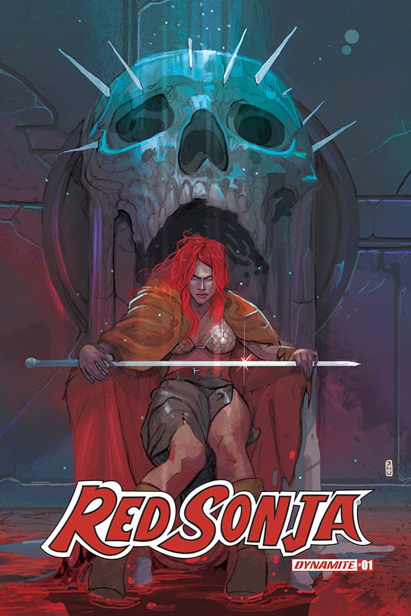 The Man Who Reinvented Flintstones and Snagglepuss Does the Same For Red Sonja