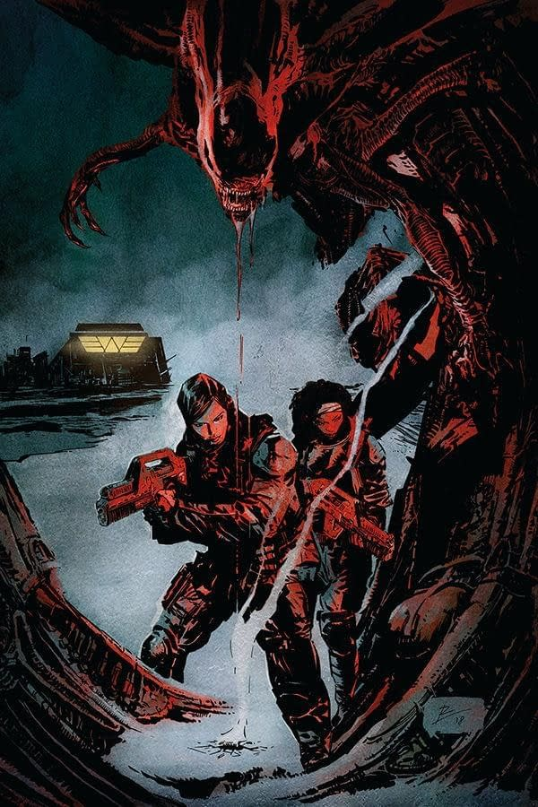 Ripley and Hendricks team up for Alien: Resistance from Dark Horse (REVIEW)