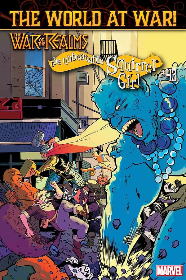 Now Squirrel Girl Ties-Into War of the Realms