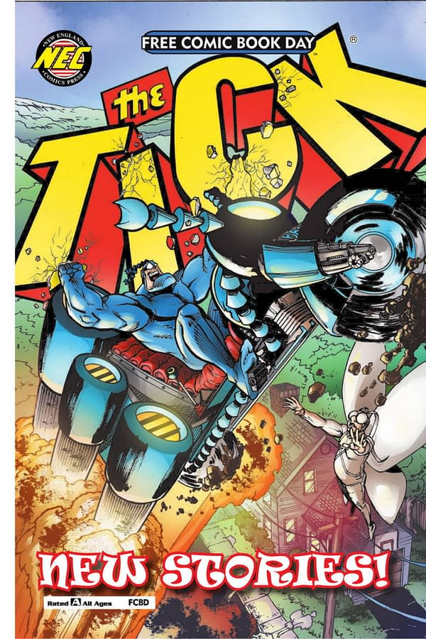 The Tick Free Comic Book Day 2019 is a Sequel to 2018's One – Preview
