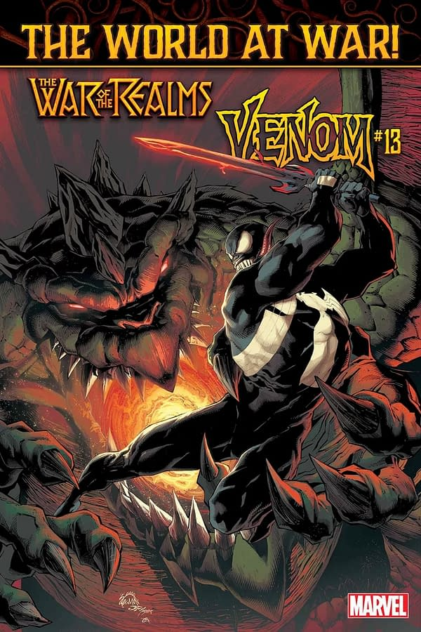 Cullen Bunn and Iban Coello Take Over Venom Ongoing for War of the Realms Tie-In