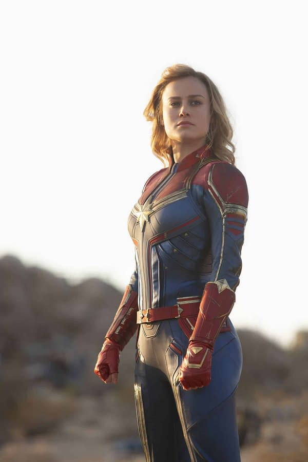 New 'Captain Marvel' Images Have Starforce, Skrull, and More