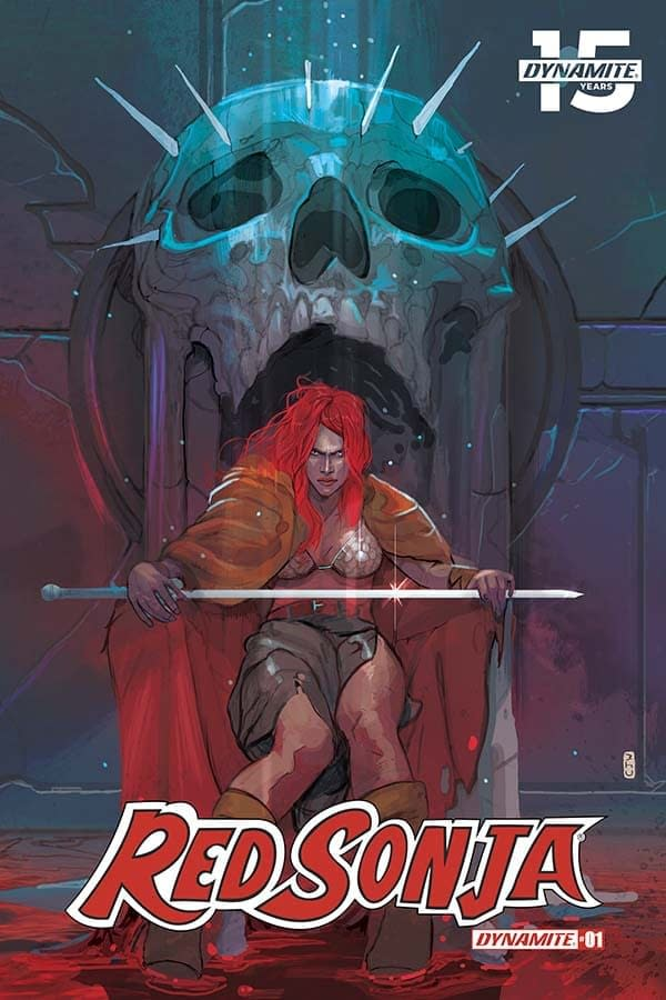 'Some Pretty Alarming Fine Print' – Mark Russell's First Writer's Commentary on Red Sonja #1
