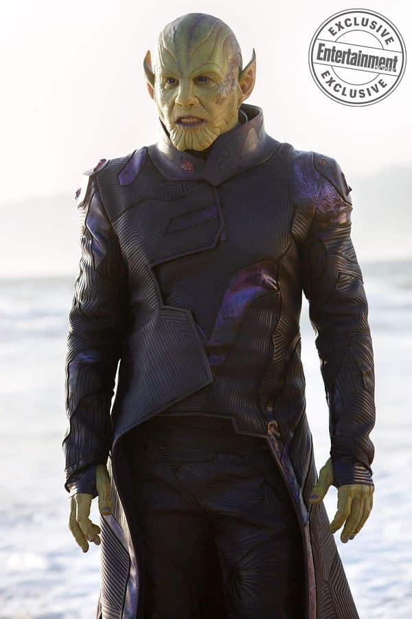We Love This Description of Ben Mendelsohn While Filming 'Captain Marvel'