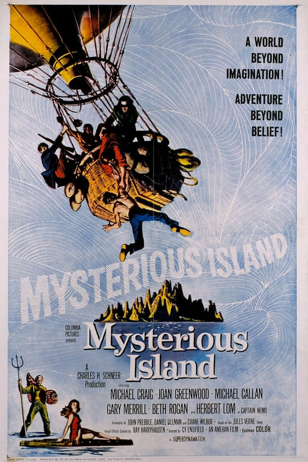 Castle of Horror: 'Mysterious Island' (1961) Gave Us Giant Crabs and a Suave, Strange Captain Nemo