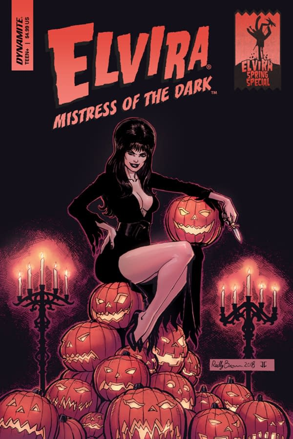 Elvira Spring Special - The Mistress of the Dark Gets Silly in This One-Shot