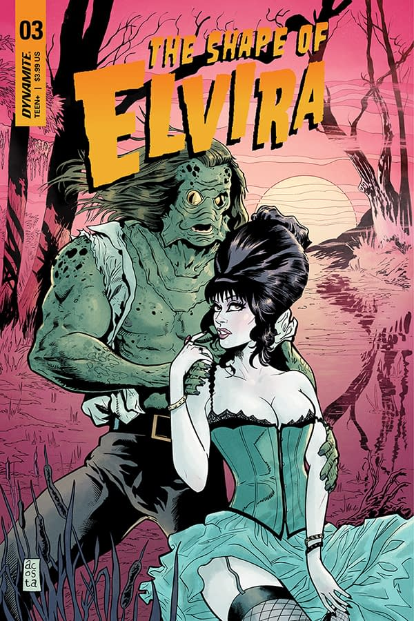 David Avallone's Writer's Commentary on The Shape Of Elvira #3