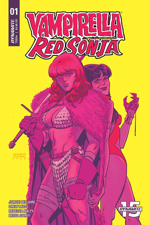 Jordie Bellaire and Drew Moss Launch Vampirella & Red Sonja Ongoing Series in September