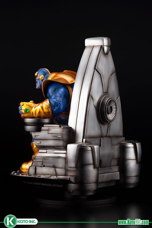 Thanos the Mad Titan Returns with New Statue from Koyobukiya