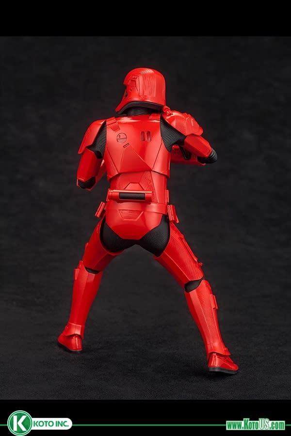 Kotobukiya Embraces the Darkside with New Sith Troopers ArtFx+ Statue
