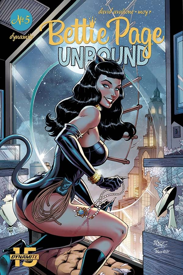 David Avallone's Writer's Commentary on Bettie Page Unbound #5,