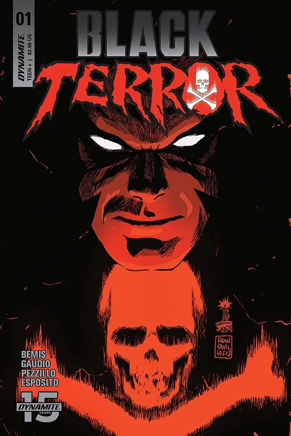 """Max Bemis' Commentary on Black Terror #1, His First Comic """"After A Year Of Weirdness And Pain"""""""