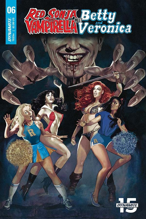 Amy Chu's Writer's Commentary on Red Sonja and Vampirella Meet Betty and Veronica #6 – Back From Baltimore