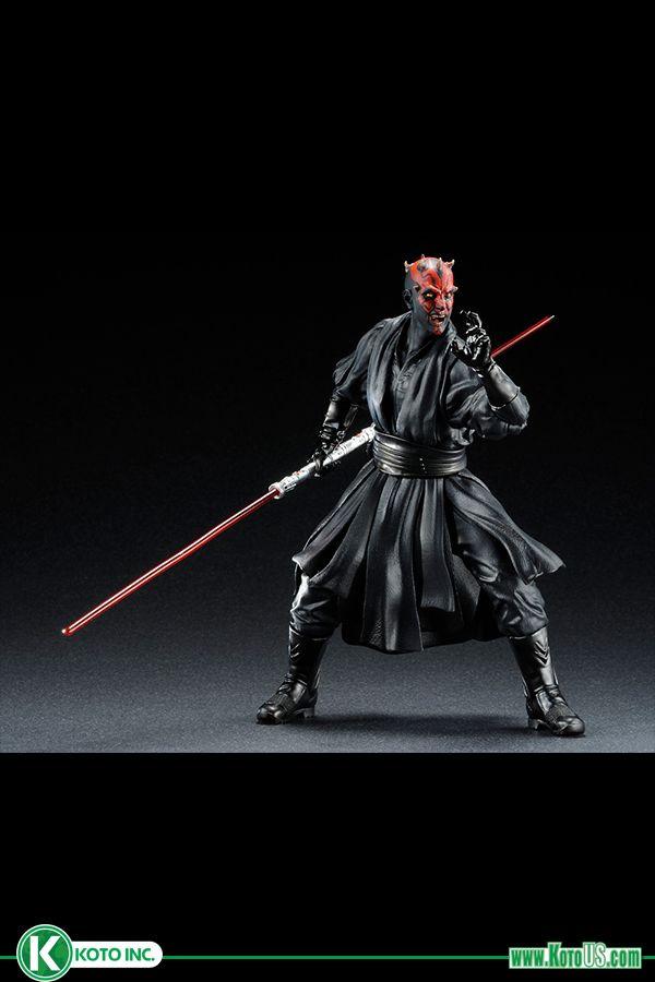 Darth Maul Kotobukiya Brings the Dark Side to Your Shelves