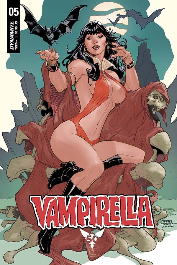 Christopher Priest's Writer's Commentary on Vampirella #5