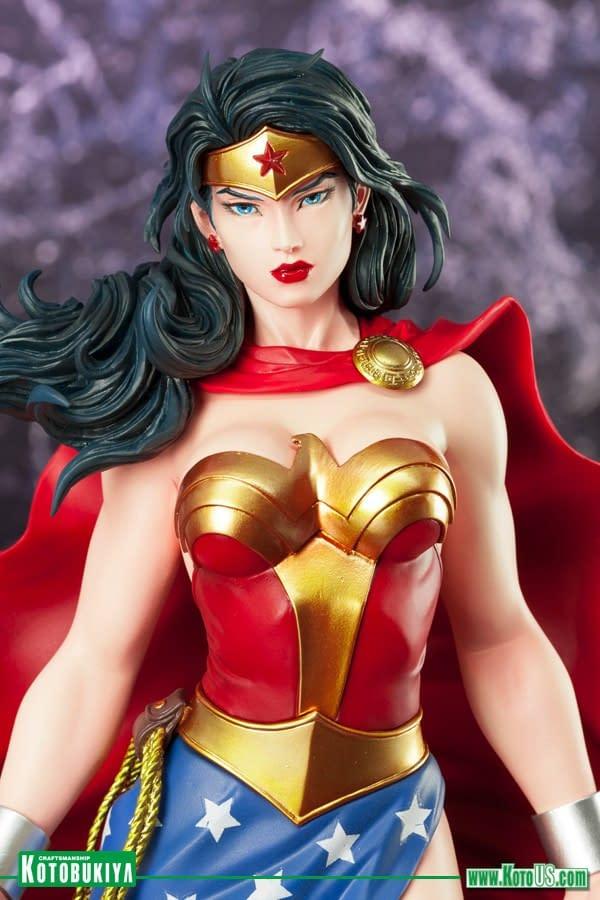 Wonder Woman Gets a Re-Release Kotobukiya Statue