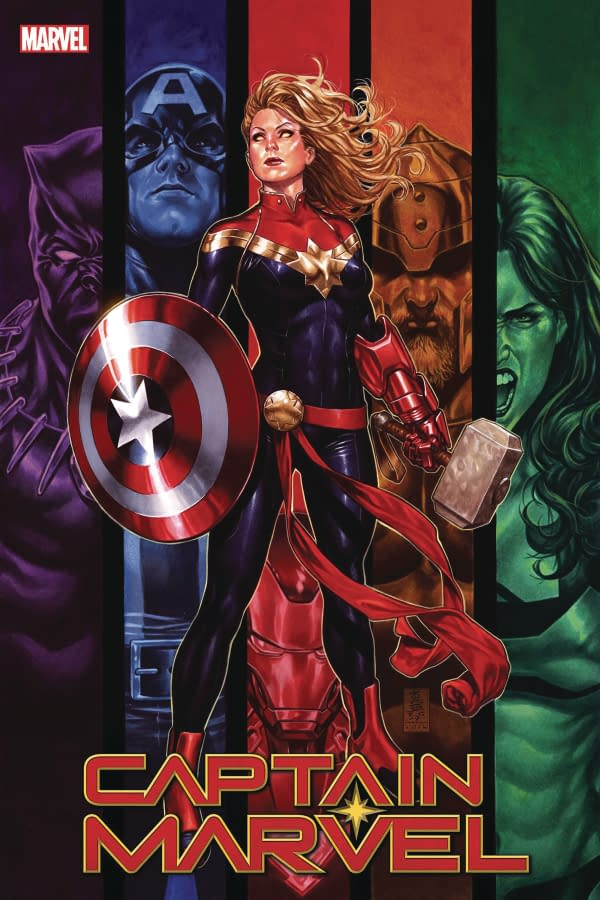 Marvel Intends March's Captain Marvel #16 to be a 'Very Important Issue'