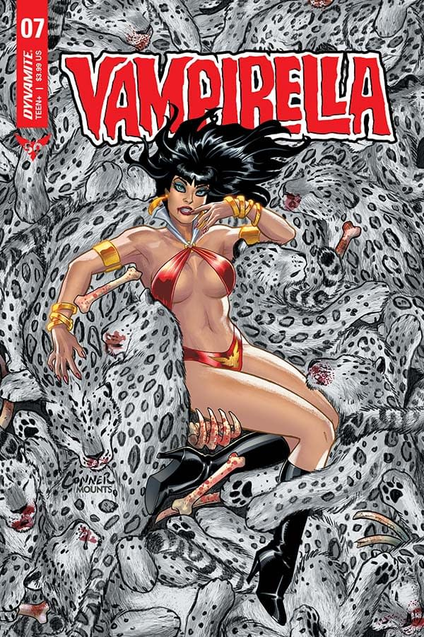 Christopher Priest's Writer's Commentary on Vampirella #7 – a Palate Cleanser for Seduction Of The Innocent