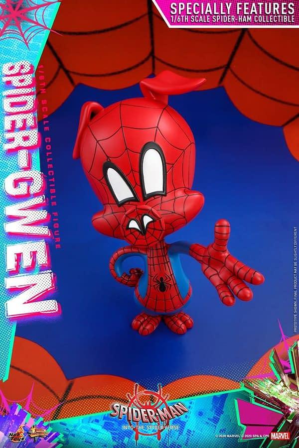 Spider-Gwen Hot Toys Into the Spider-Verse Figure