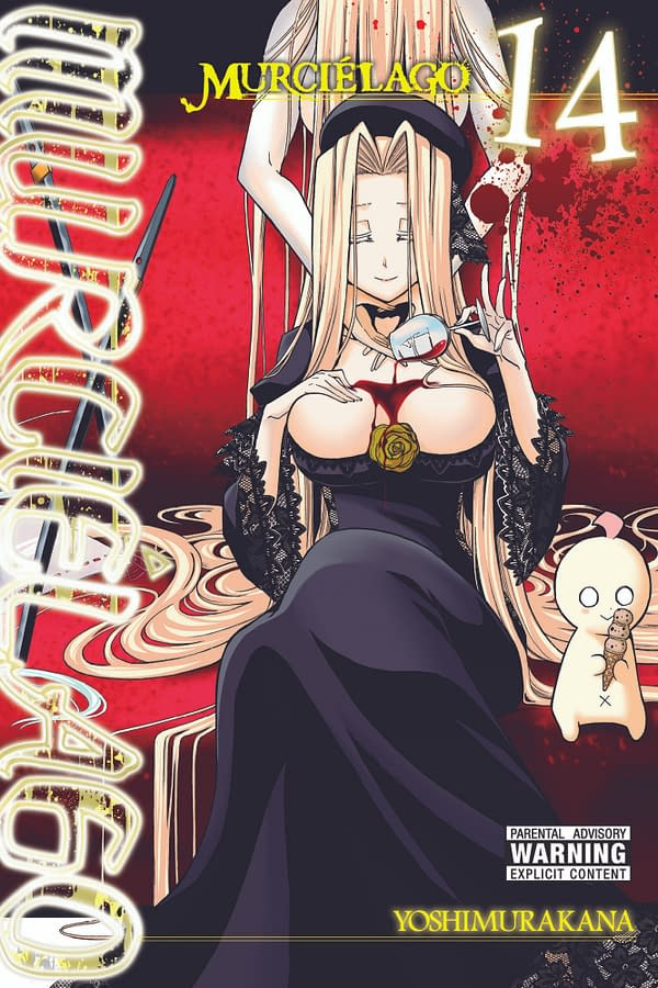The official cover for Murciélago, Vol. 14 published by Yen Press.