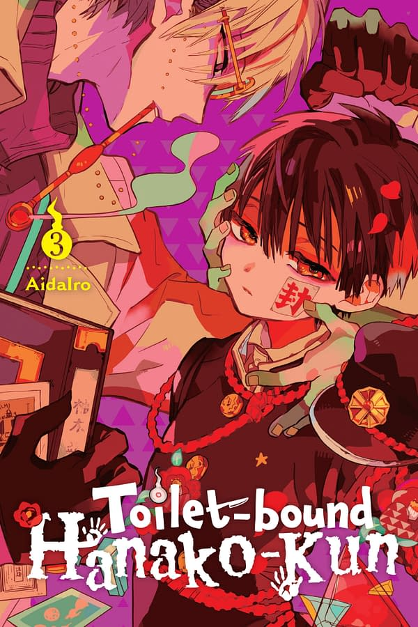 The official cover for Toilet-bound Hanako-kun, Vol. 3 published by Yen Press.