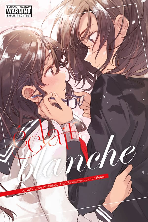 The official cover for Éclair Blanche published by Yen Press.