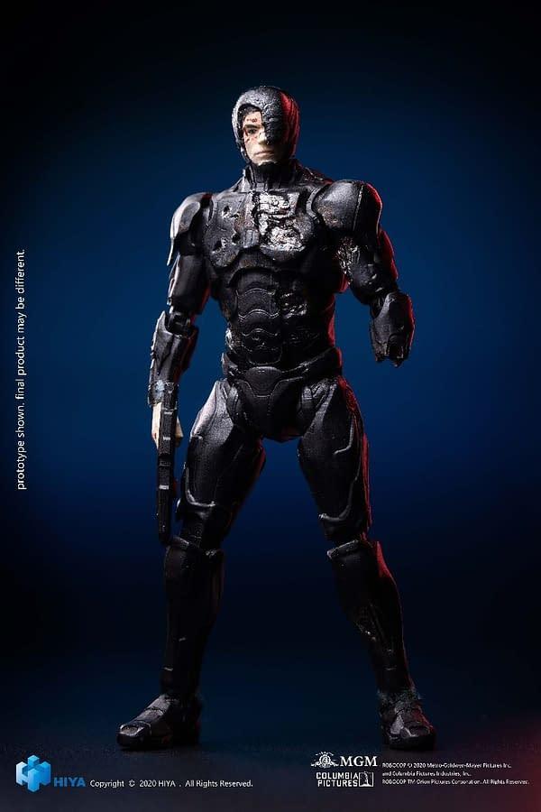 Battle Damaged 2014 RoboCop from Hiya Toys