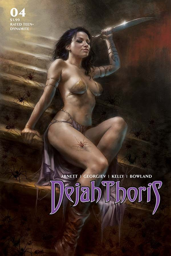 Dejah Thoris #4 Writer's Commentary by Dan Abnett