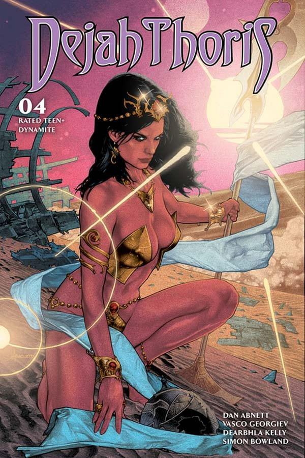 Dejah Thoris #4 gets a writer's commentary from Dan Abnett