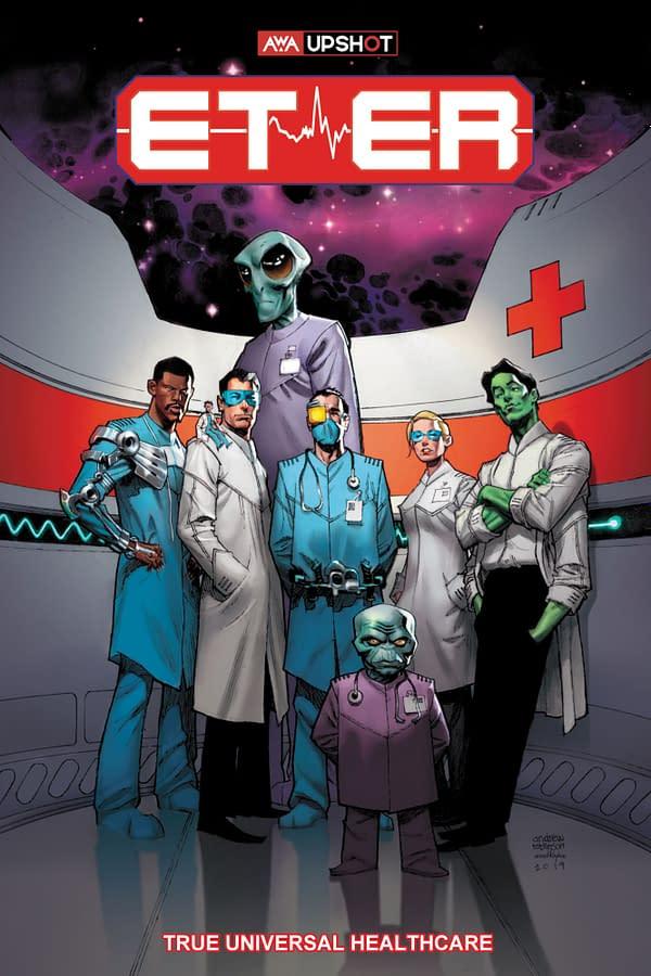 The Cover Art for AWA Studio's ET-ER #1.