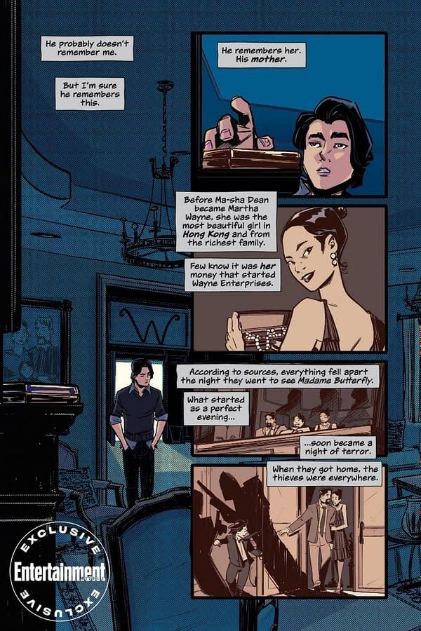 A preview of Melissa de la Cruz and Thomas Pitilli's Gotham High.