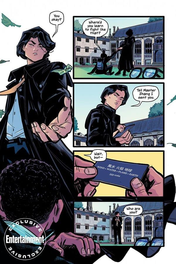 A Gotham High preview by Melissa de la Cruz and Thomas Pitilli.