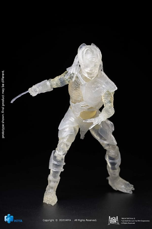 Predator Invisible Falconer Predators from Hiya Toys