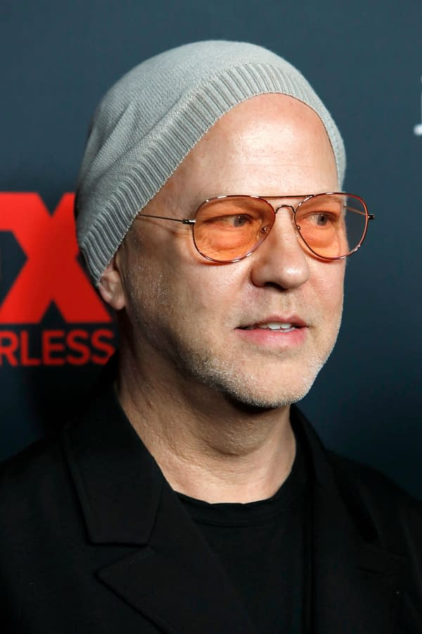 Ryan Murphy talks about American Crime Story, courtesy of Kathy Hutchins and Shutterstock.com.