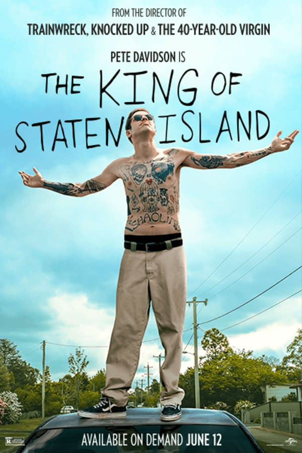The King of Staten Island will hit VOD streaming on June 12th.