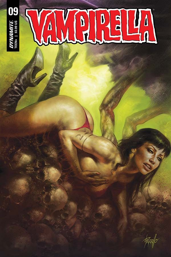 Back to FCBD with Christopher Priest's Writer's Commentary for Vampirella #9.