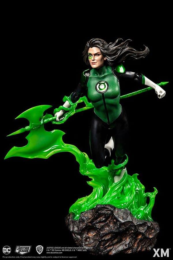 Green Lantern Jessica Cruz Has Arrived at XM Studios