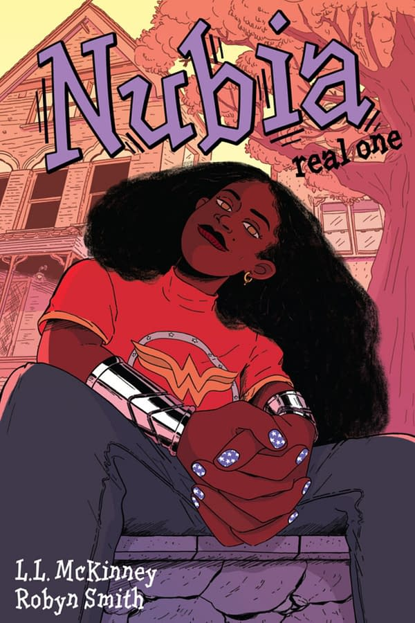 Wonder Woman's Sister, Nubia OGN From L. L. McKinney and Robyn Smith.
