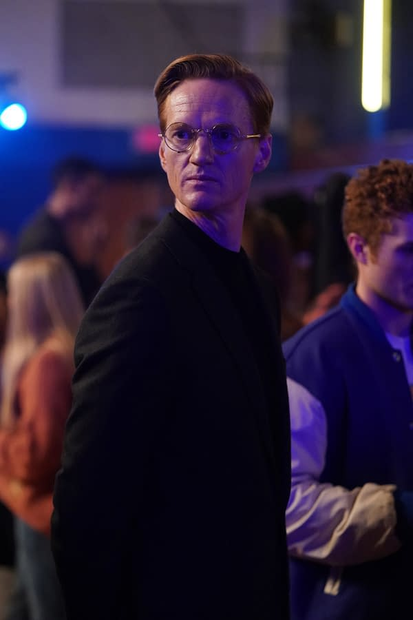 Christopher James Baker as Henry King Sr. on Stargirl, courtesy of The CW.