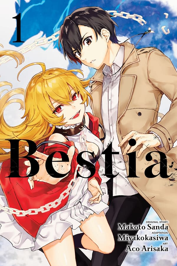 The cover of Bestia, Vol. 1 by Yen Press.