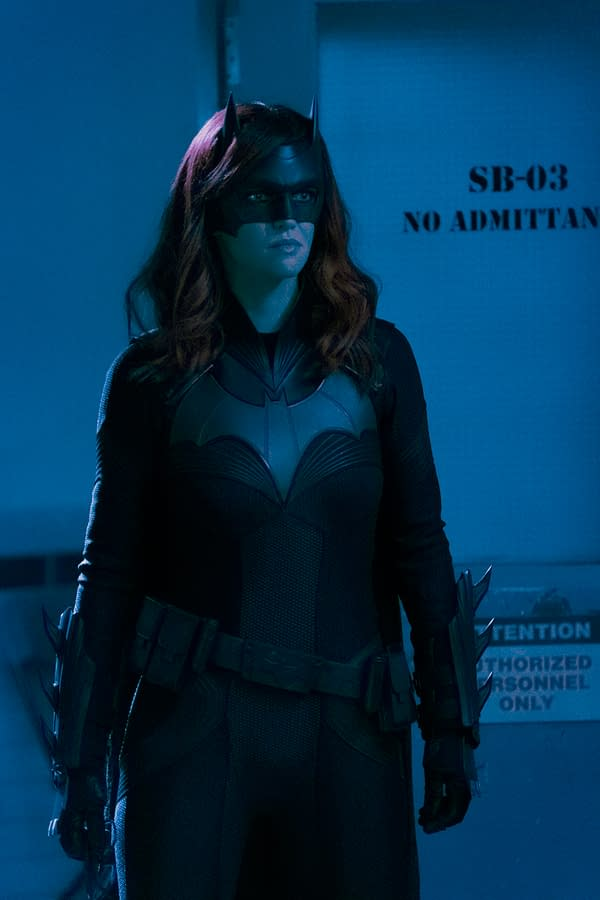 Ruby Rose as Batwoman, courtesy of The CW.