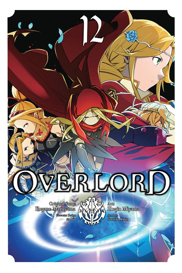 The Overlord, Vol. 12 (light novel), The Paladin of the Sacred Kingdom Part I cover by Yen Press.