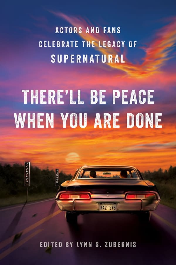 In There'll Be Peace When You Are Done: Actors and Fans Celebrate the Legacy of Supernatural comes out this week, courtesy of Smart Pop.
