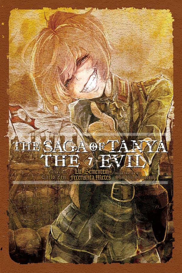 The cover of The Saga of Tanya the Evil, Vol. 7 (light novel):Ut Sementem Feceris, ita Metes by Yen Press.