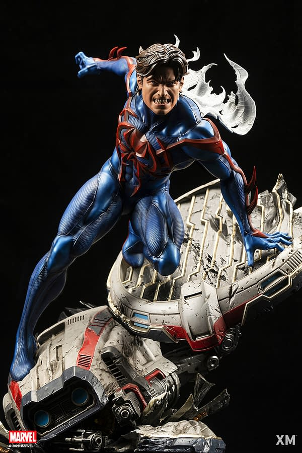 Spider-Man 2099 Comes From the Future with XM Studios