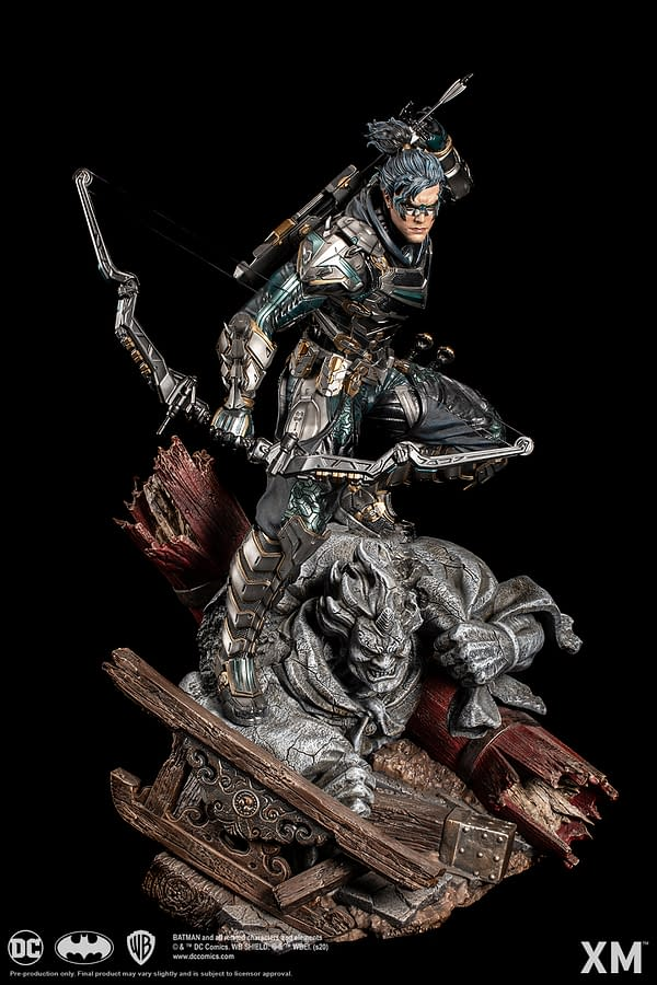 Nightwing Captures the Art of the Samurai with XM Studios